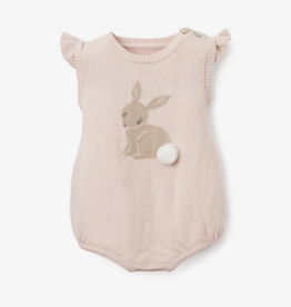 Elegant Baby Bunny Baby Bubble, Warm Blush