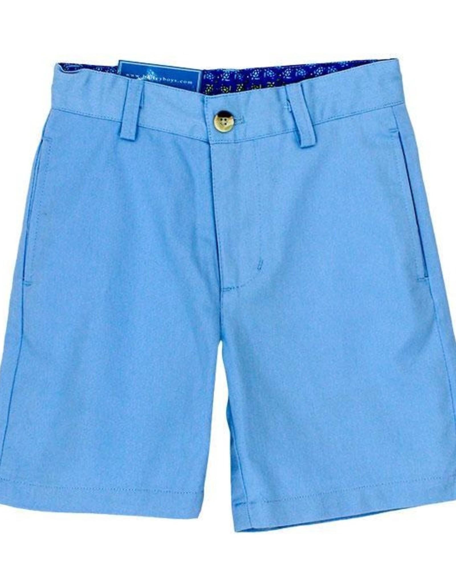 The Bailey Boys Harbor Blue Twill Shorts