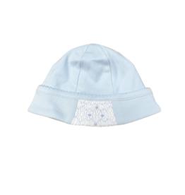 Magnolia Baby Elena & Elia's Smocked Classics Boys Hat Blue