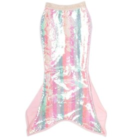 Shade Critters Sequined Mermaid Tail Pastel Stripe