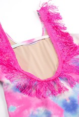 Shade Critters Fringe One Piece Suit Cotton Candy