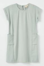 Hayden Los Angeles Sage Tee Shirt Dress With Pockets