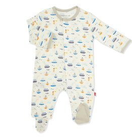 Magnetic Me Monterey Baby Modal Magnetic Footie
