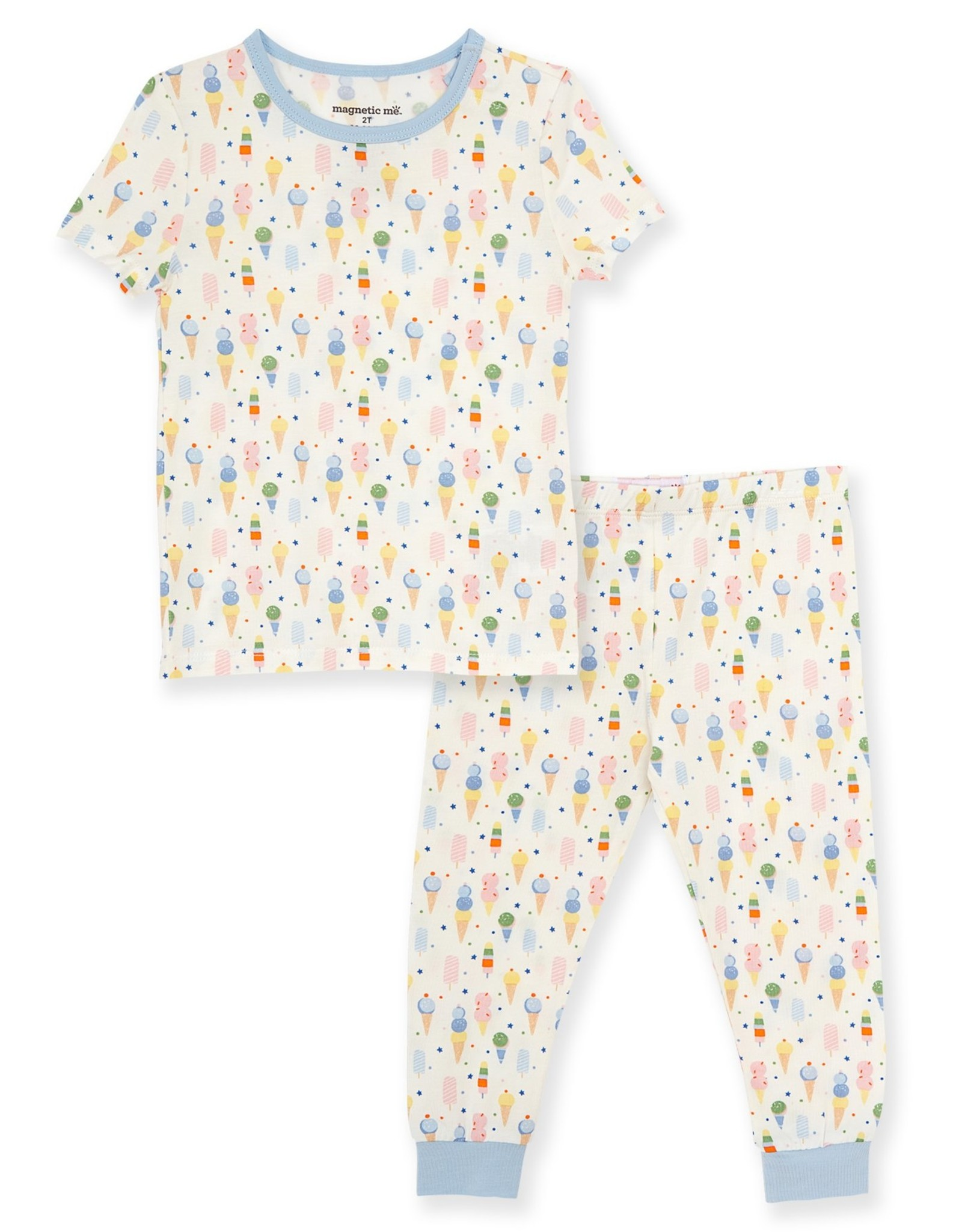 Magnetic Me Ice Ice Cream Baby Modal Magnetic 2pc PJs