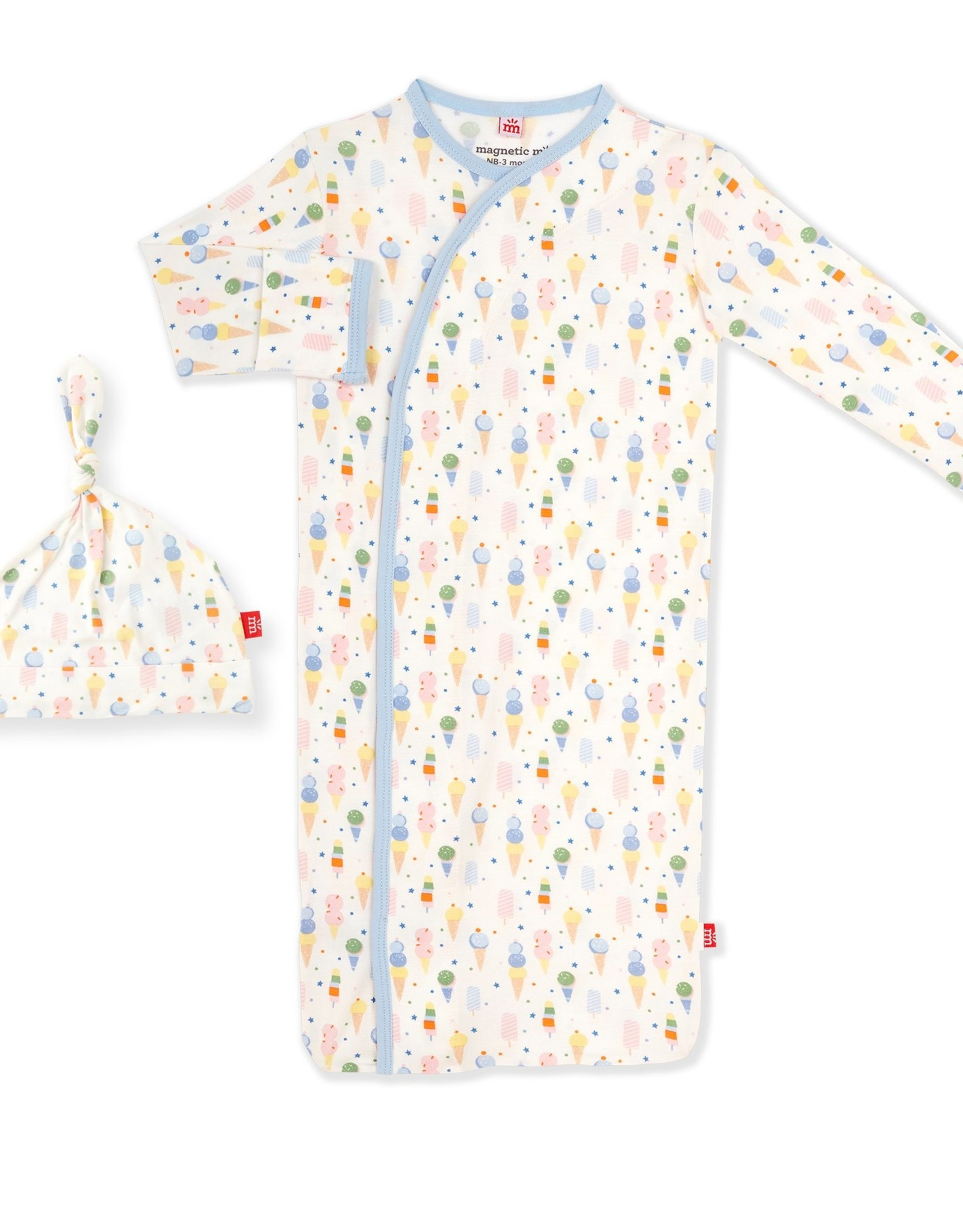 Magnetic Me Ice Ice Cream Baby Modal Magnetic Gown Set
