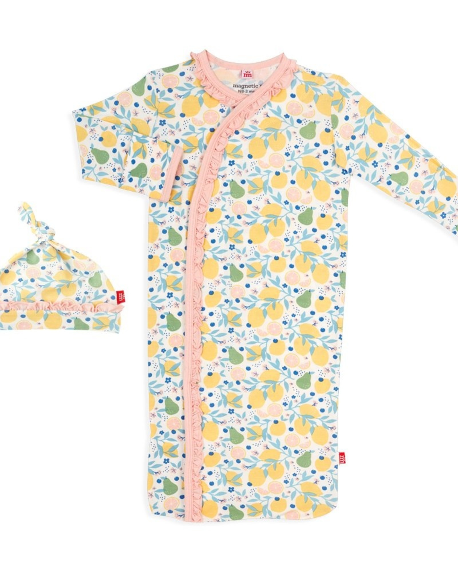 Magnetic Me Citrus Bloom Modal Magnetic Gown Set