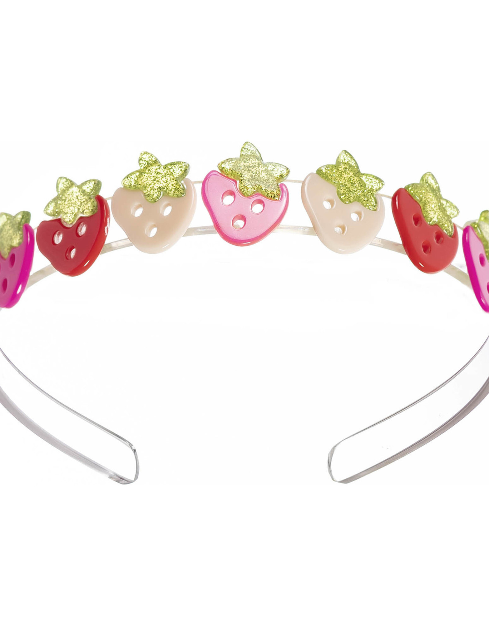 Lila and Hayes Multi Strawberry Pink Red Headband