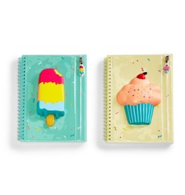 Two's Company Sweet Treats Squishy Notebook
