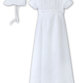 Sarah Louise Boys Christening Gown/Romper 001179S