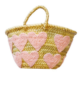 Colores Collective Woven Heart Mini Basket Bags