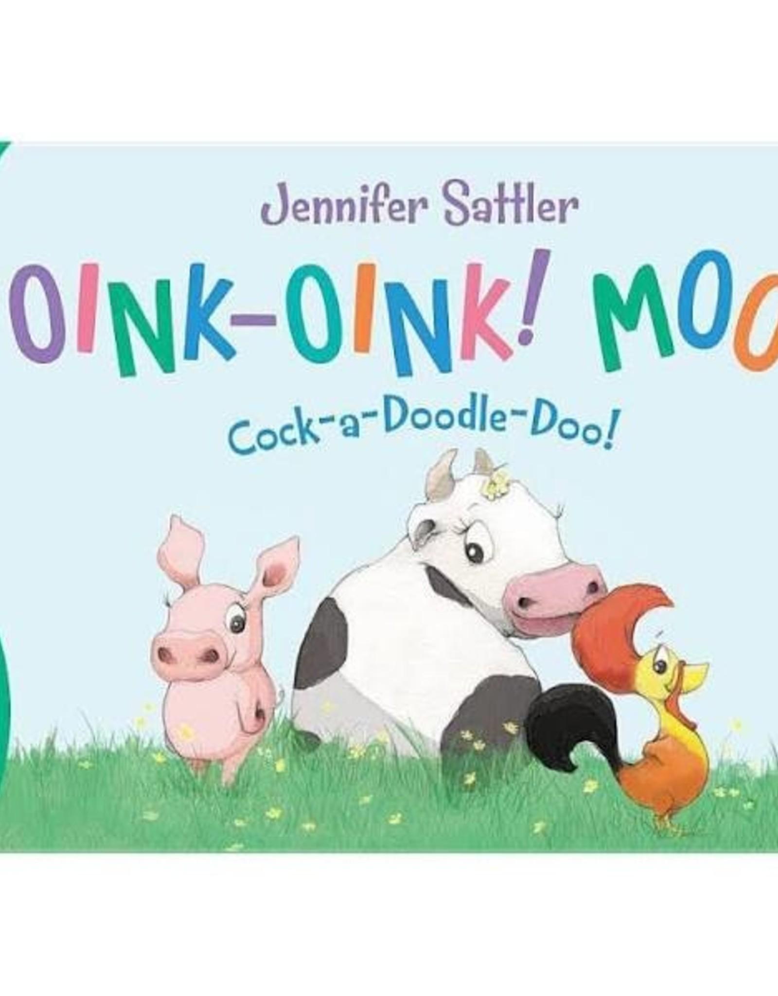 """""""Oink-Oink Moo"""" Board Book"""