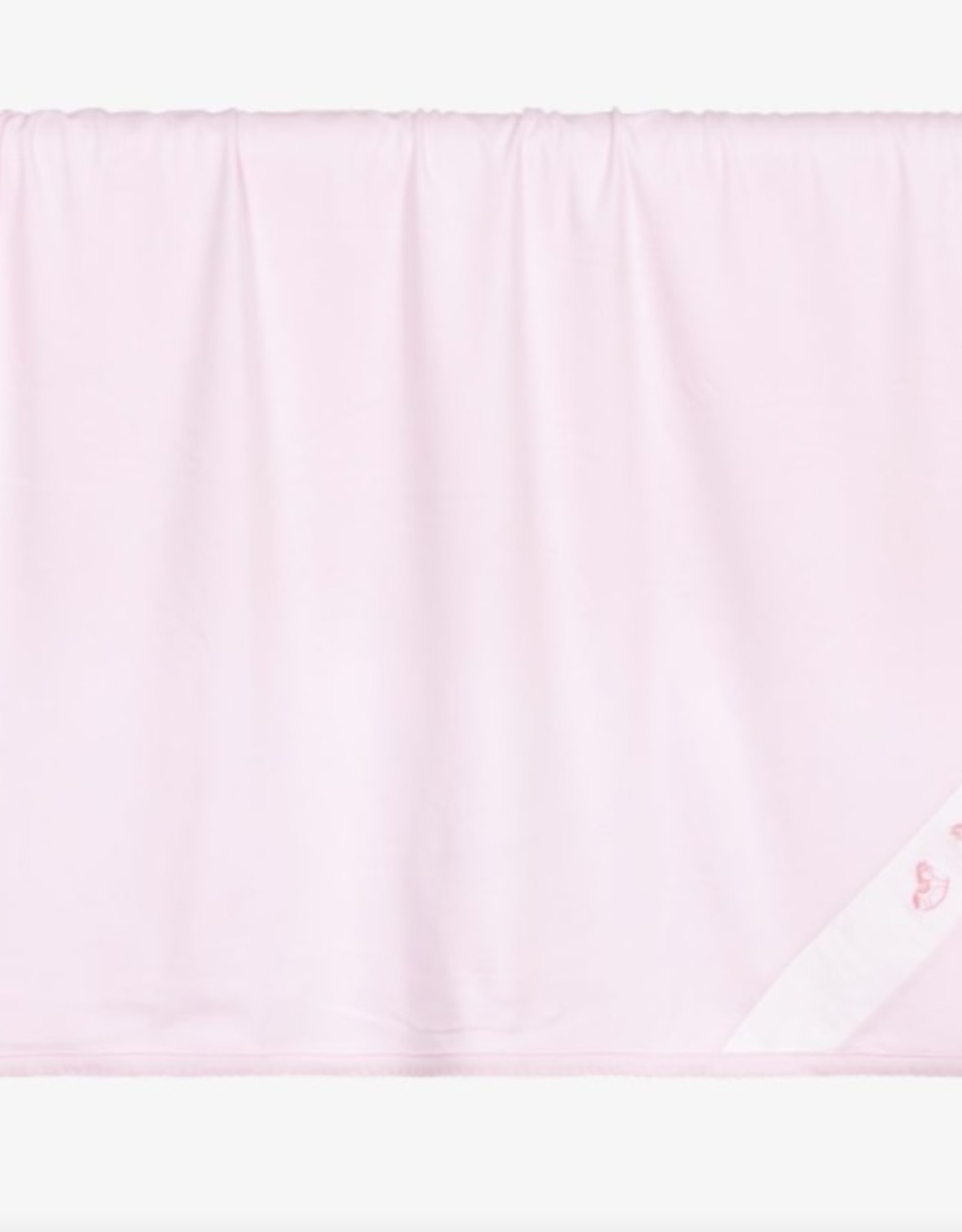 Kissy Kissy Pink Blanket w/ Rocking Horse Embroidery