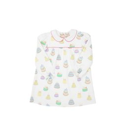 The Beaufort Bonnet Company LS Holly Day Dress Pima - Piece of Cake HHP