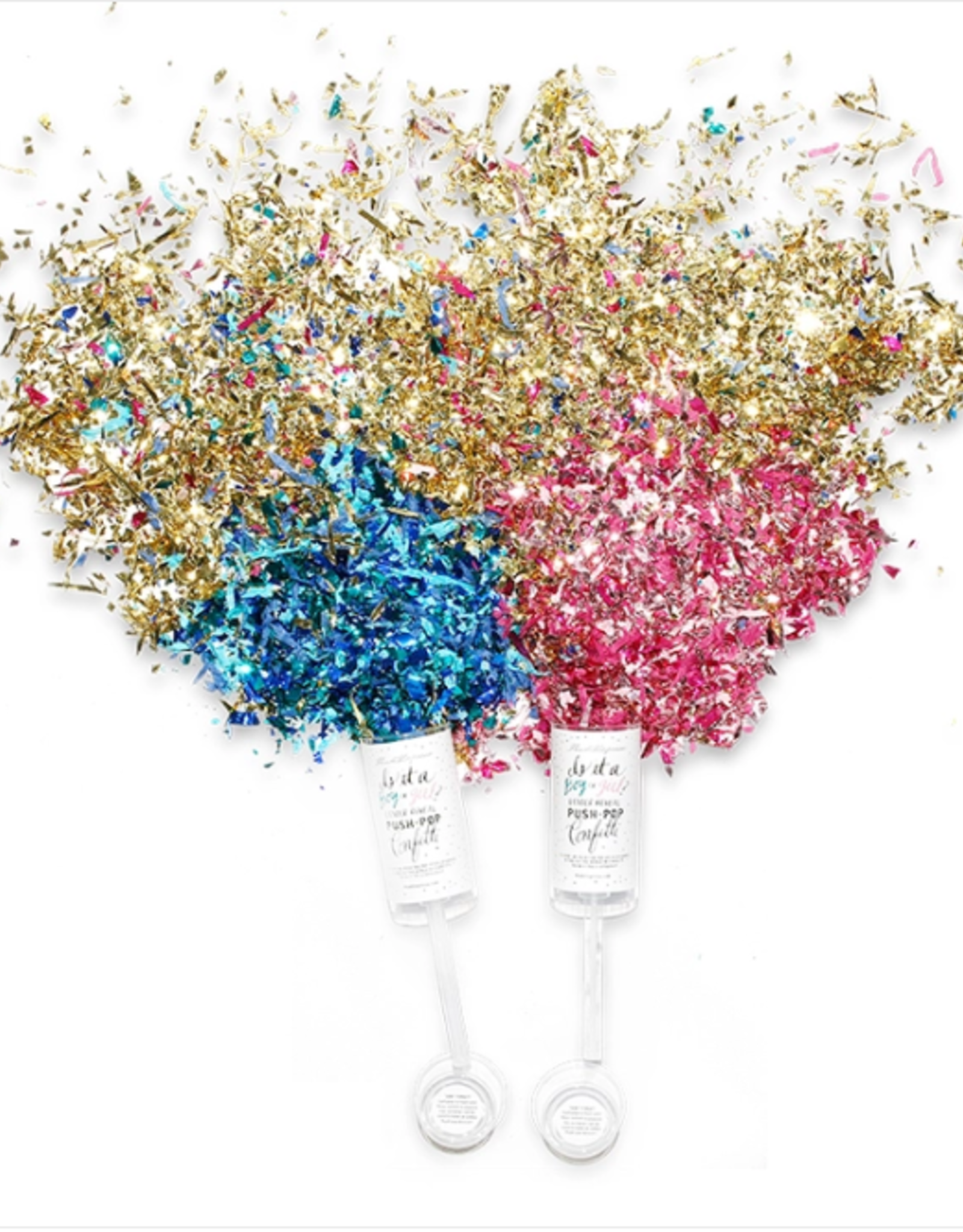 Gender Reveal Push-Up Confetti