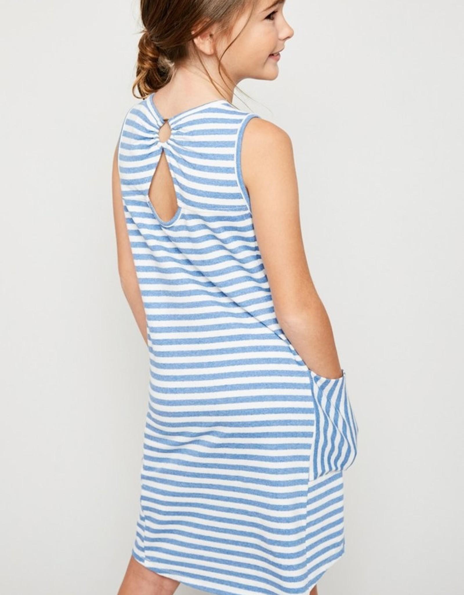 Hayden Los Angeles Blue/White Stripe Dress