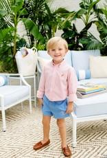 The Beaufort Bonnet Company Dean's List Dress Shirt, Tega Cay Tangerine Windowpane