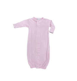 Magnolia Baby Sweet Baby Converter Gown w/ Dots, Pink