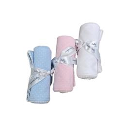 Magnolia Baby Sweet Baby Receiving Blanket w/ Dots