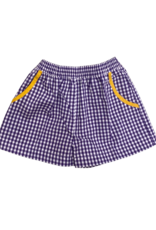 Remember Nguyen Purple/Gold Shorts