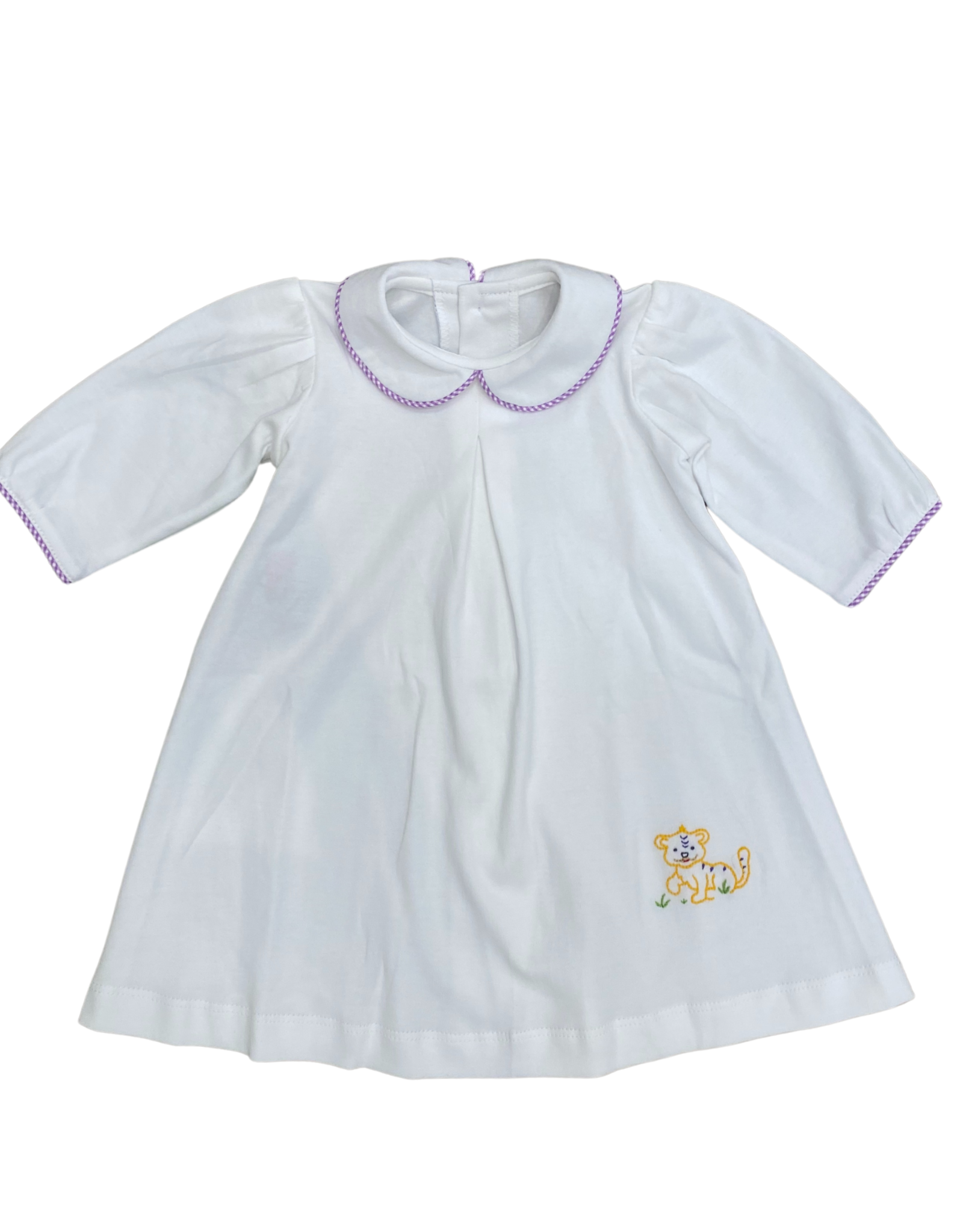 Remember Nguyen Purple/Gold Tiger Daygown
