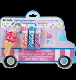 Iscream Yummy Ice Cream Truck Lip Balm/Gloss Set