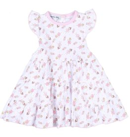 Magnolia Baby Twinkle Toes Printed Flutters Dress