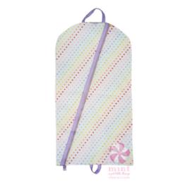 Mint Tiny Hearts Hanging Garment Bag
