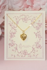 Collectables Gold Heart Locket Necklace