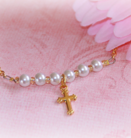 Collectables Pearl Necklace with Cross