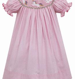 Anavini Unicorn Bishop Pink With White Dots