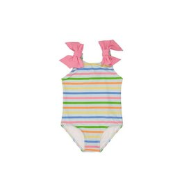 The Beaufort Bonnet Company Edisto Beach Bathing Suit, South Dock Stripe