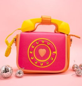 Bewaltz Ring Ring Phone Convertible Handbag in Fruity Pink