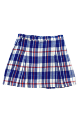 Classic prep Cara without pockets plaid skirt