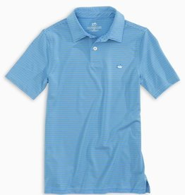 Southern Tide Youth SS Driver Micro Stripe Polo