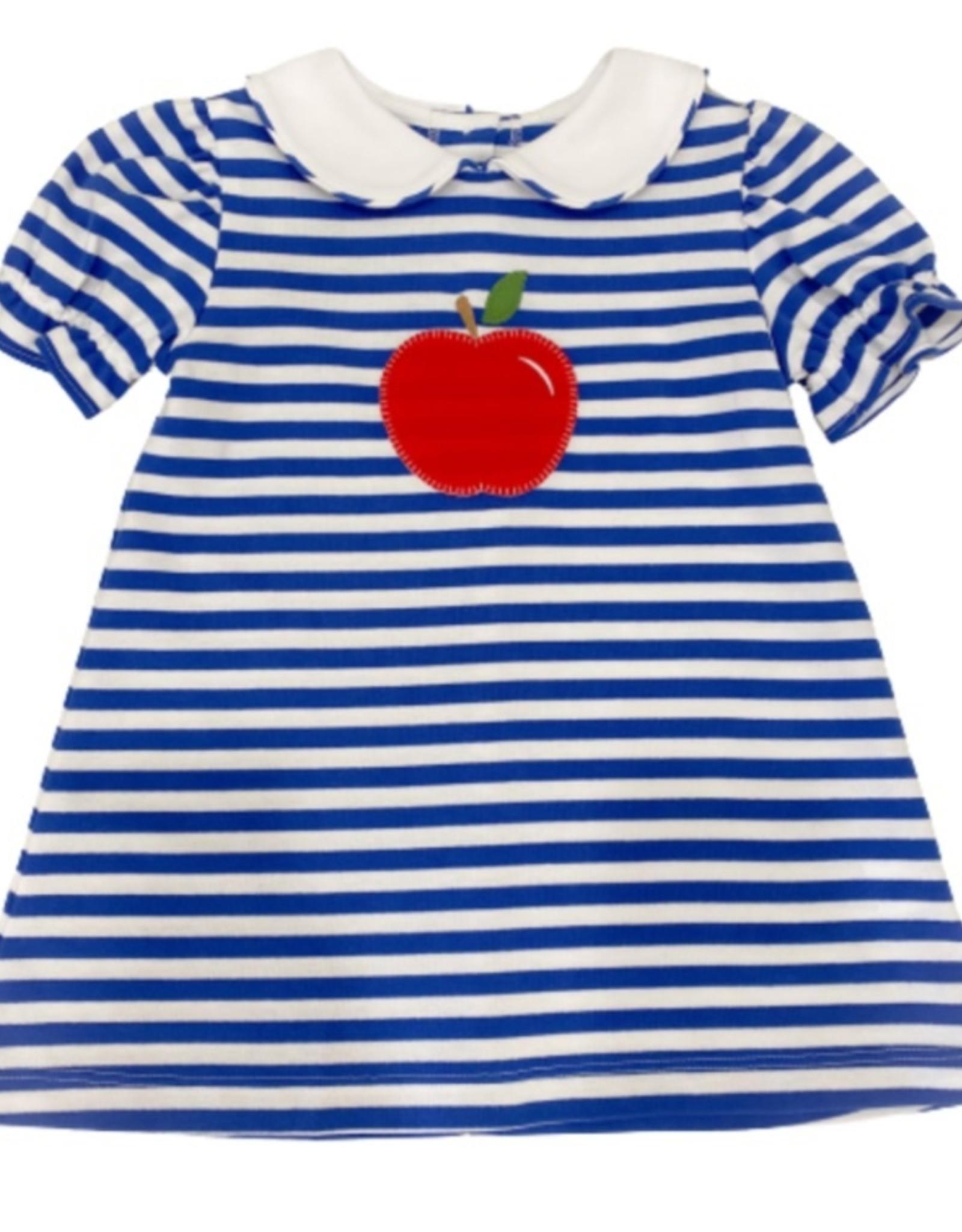 Zuccini Louisa Knit Apple Dress, Royal Blue