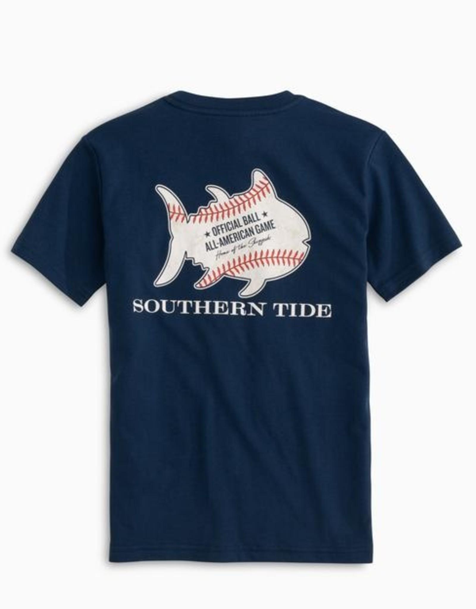 Southern Tide Youth SS Baseball Tee