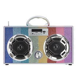 Boom Box Bluetooth Speaker
