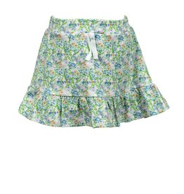The Proper Peony Fall Florals Pima Skirt
