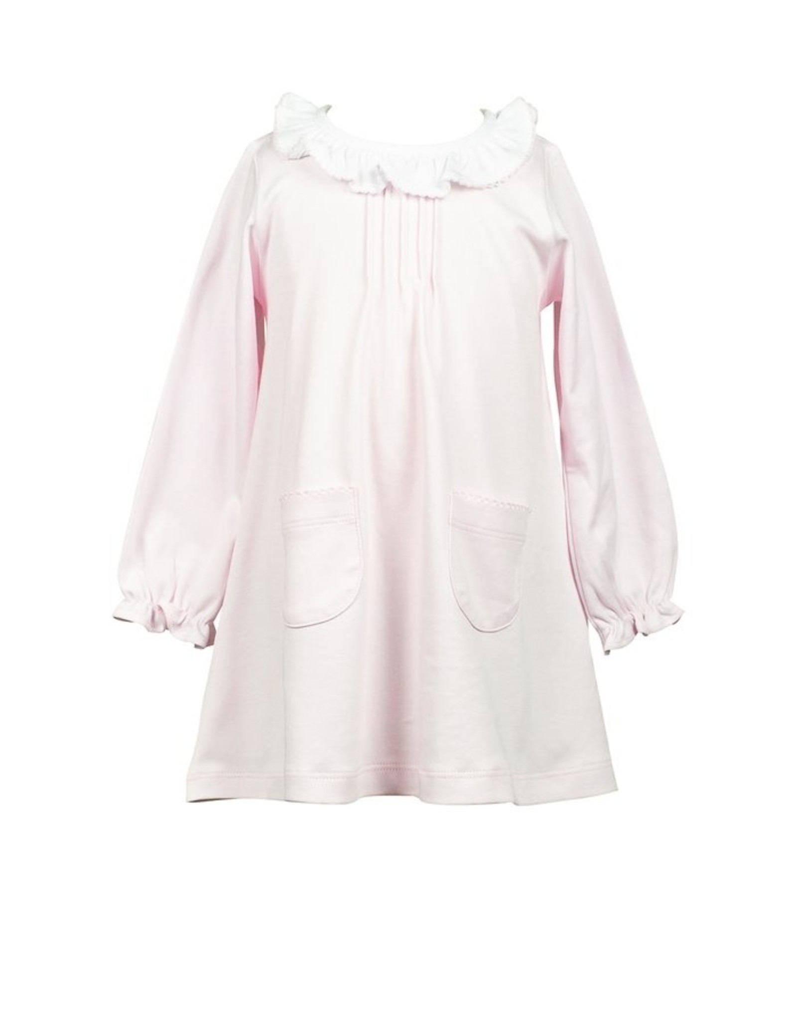 The Proper Peony Pink Pima LS Aline Dress