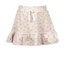 The Proper Peony Rainbow Pima Skirt