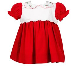 The Proper Peony Tinsel Red Dress