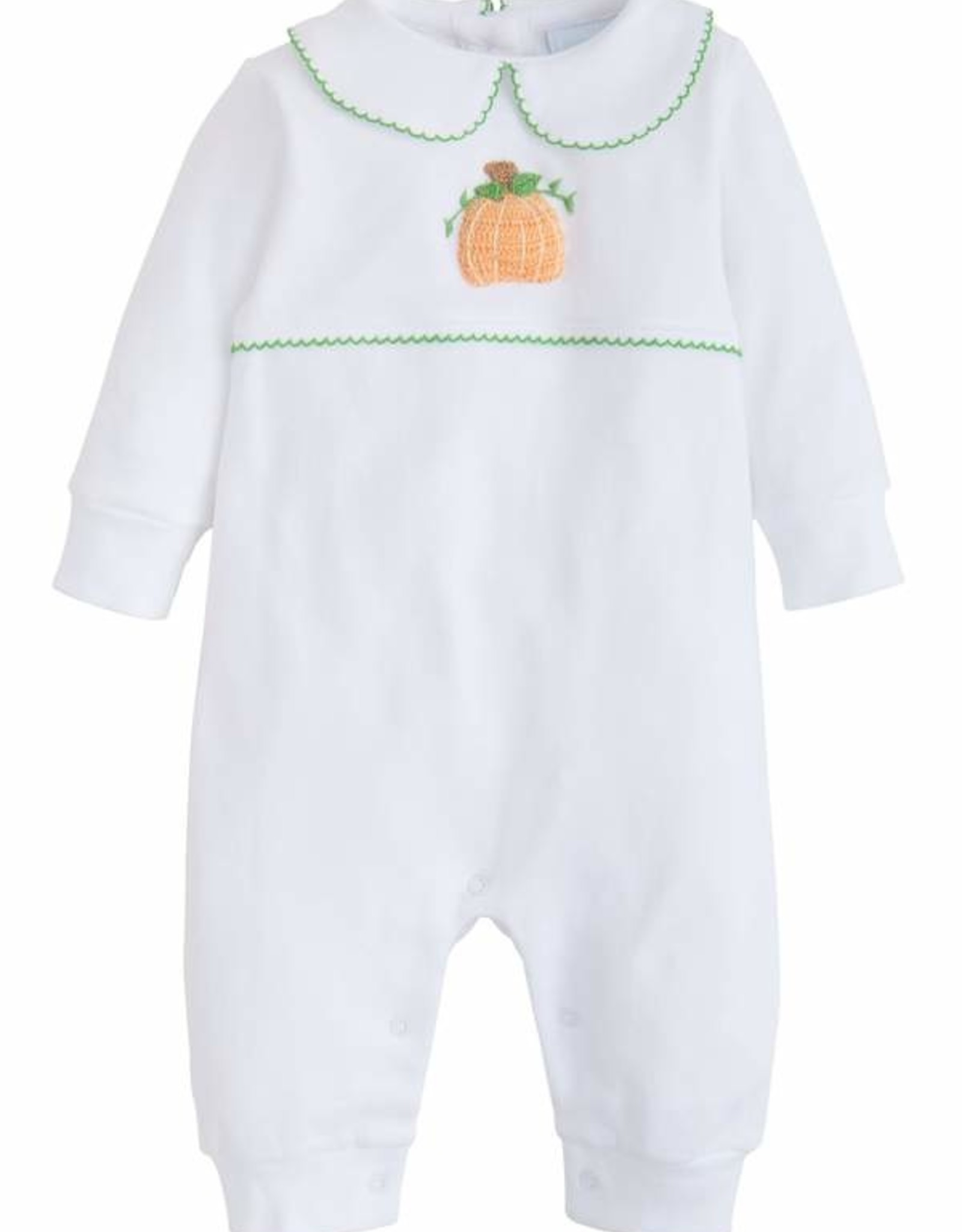 Little English Pumpkin Crochet Playsuit