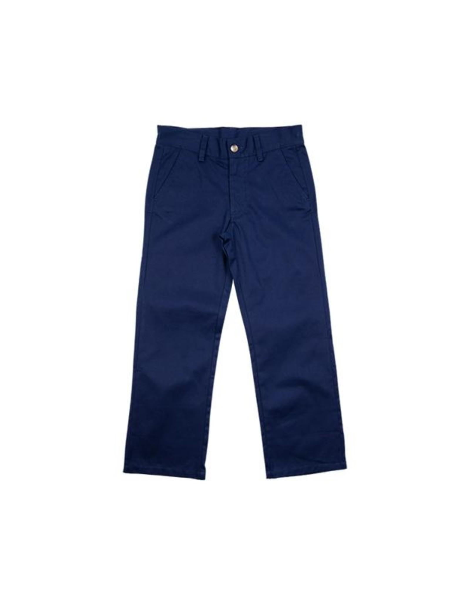The Beaufort Bonnet Company Prep School Pants Nantucket Navy Twill