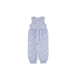 The Beaufort Bonnet Company Rebecca Sleeveless Romper, Mableton Minnie Floral