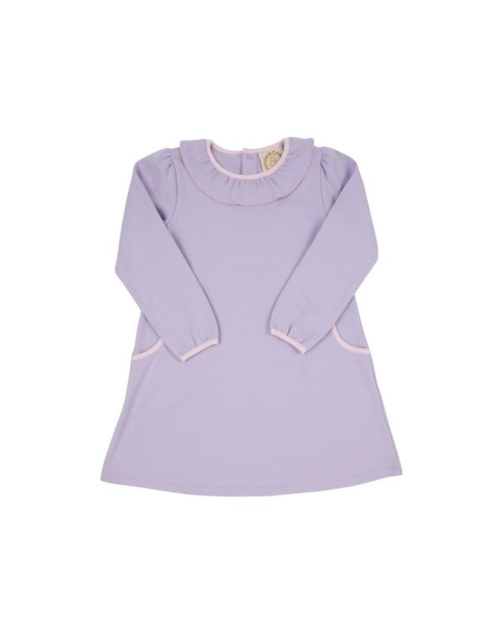 The Beaufort Bonnet Company Ramona Ruffle Dress, Lauderdale Lavender