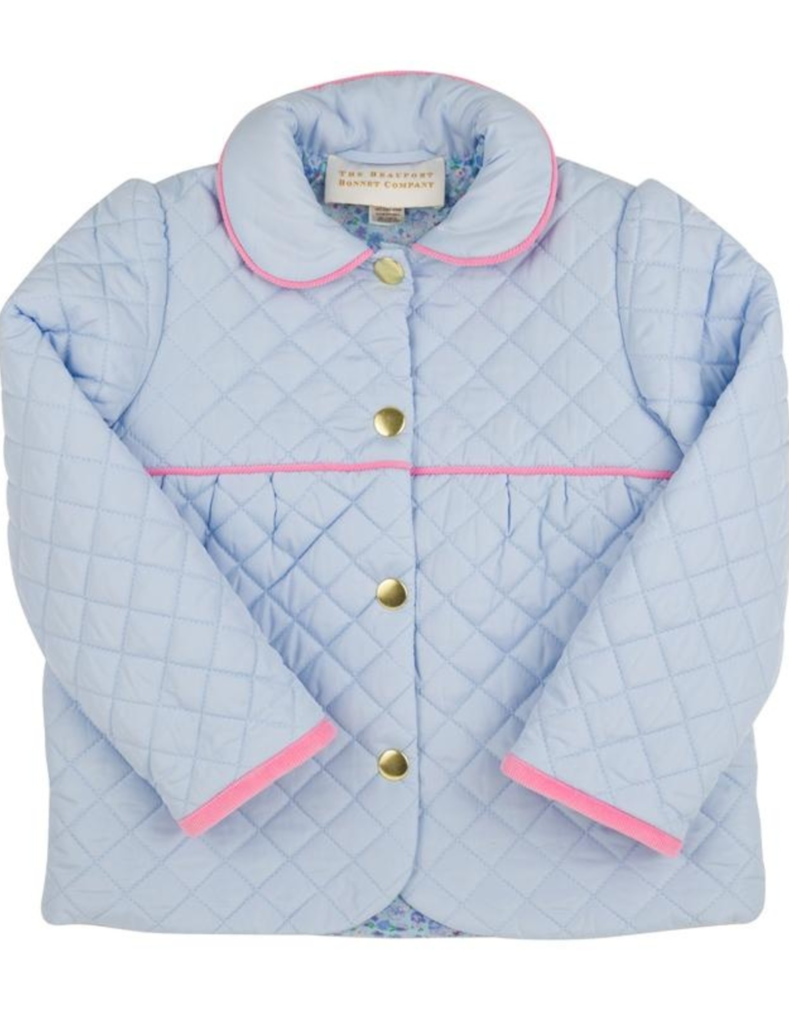 The Beaufort Bonnet Company Carlyle Quilted Coat, Mableton Minnie Floral