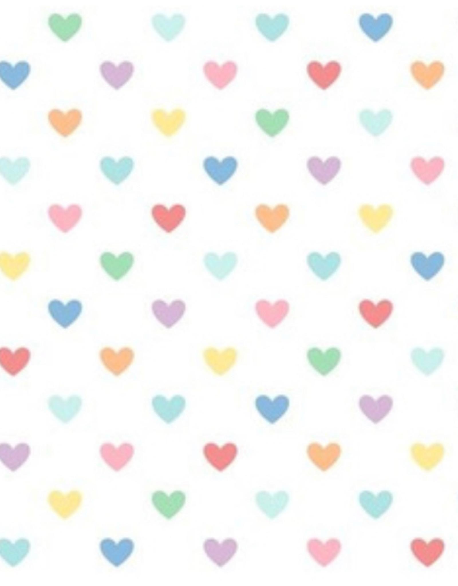 James and Lottie Harper Dress in Rainbow Hearts