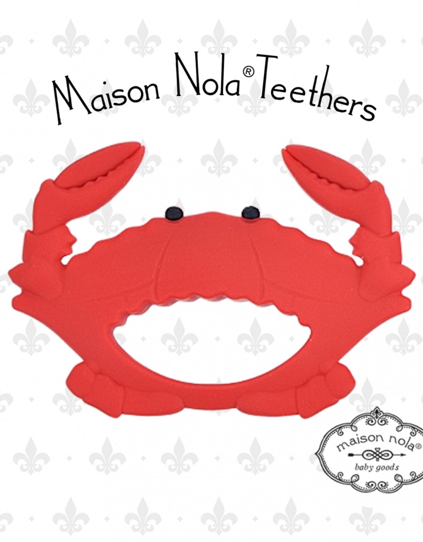 Maison Nola Crab Silicone Teether