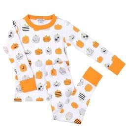 Magnolia Baby Pumpkin Parade 2-Piece PJs