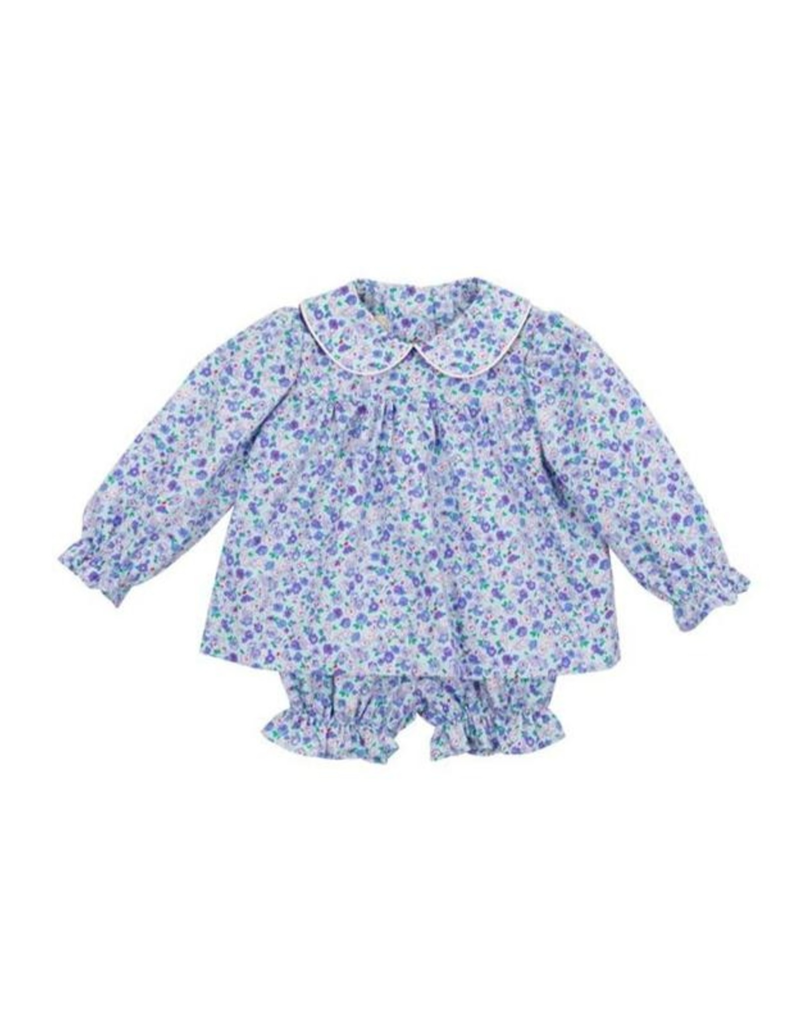 The Beaufort Bonnet Company Bon Air Bloomer Set in Mableton Floral